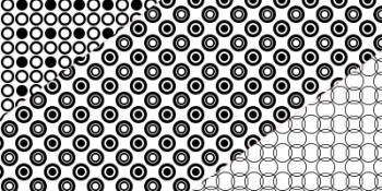 Photoshop circle patterns