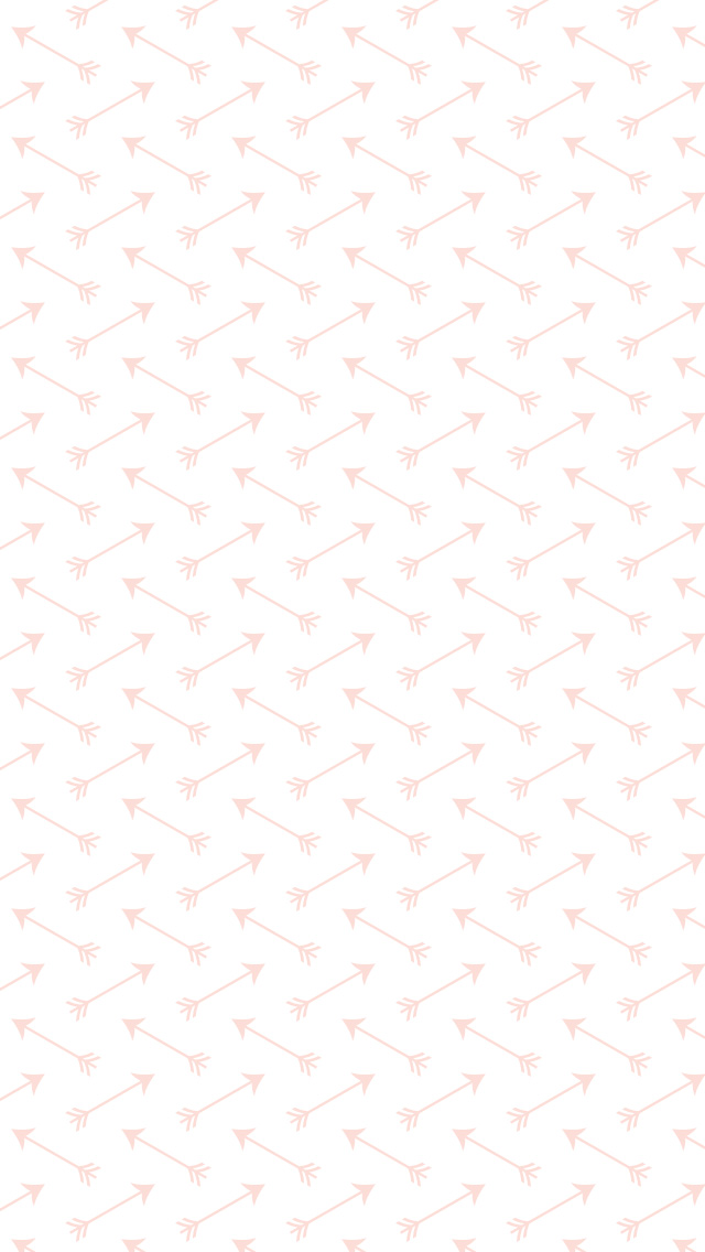 Pink arrow pattern wallpaper
